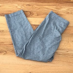 ✰ Grey Cropped Leggings
